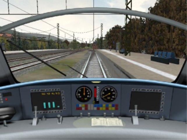 Im Cockpit eines ICE