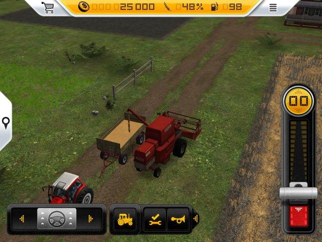 Das Landleben wartet: Felder bewirtschaften, säen, ernten, ackern.