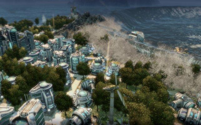 Gegnerische Inseln übernehmt ihr nun auch per Aktienanteile.
