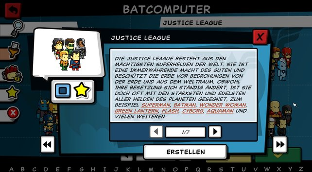 Ihr möchtet mehr über die Justice League wissen? Der Batcomputer hilft.