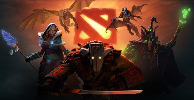 In Dota 2 Kämpft ihr mit euren Helden in einer Online-Arena.