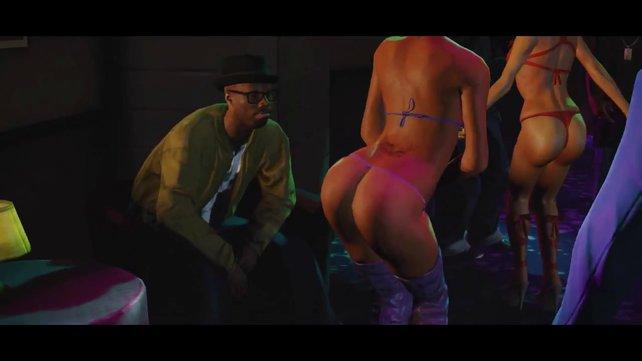 Rockstar geizt bei exotischen Tänzerinen nicht mit den Pixeln.