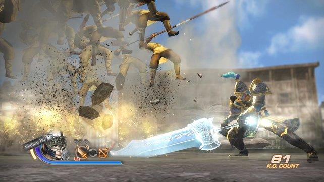 Merke: Großes Schwert, große Wirkung.