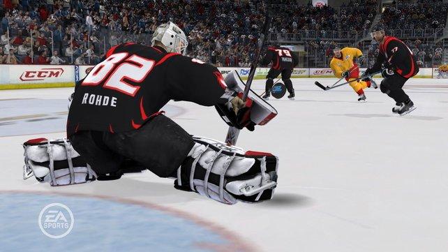 Neben der NHL ist auch die gesamte DEL enthalten.