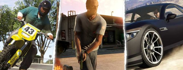 Szenen aus GTA 5.