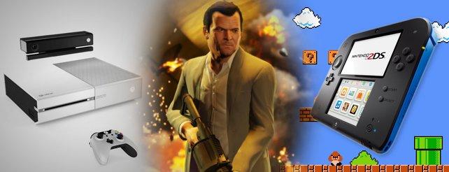 Wochenrückblick: Neuer GTA-Trailer, 2DS angekündigt, weiße Xbox One