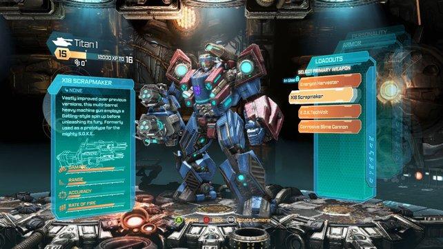 Im leicht verständlichen Editor bastelt ihr euch eigene Transformer.