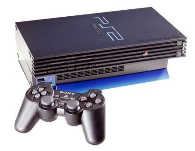 So sah die erste Version der PlayStation 2 aus.