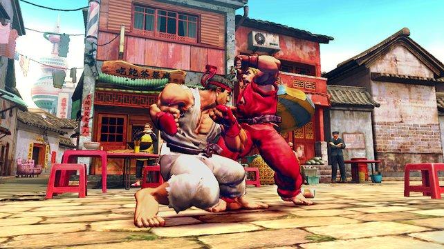 Ryu gegen Ken: Der Klassiker unter den Duellen.
