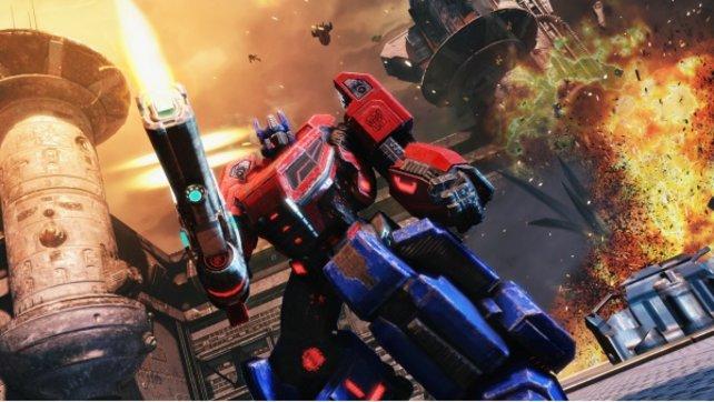 Optimus Prime ist ein typischer Macho, aber als Chef der Autobots muss man das sein.