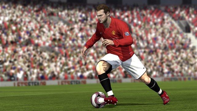 Rooney ist auch in FIFA 09 ein absoluter Klassestürmer.