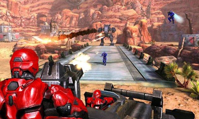 Mit schwerem Geschütz und Superkräften rettet ihr die Erde vor feindlichen Invasoren.