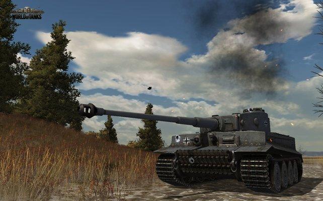 Das Panzer-Spiel bietet über 150 der Kettenfahrzeuge.