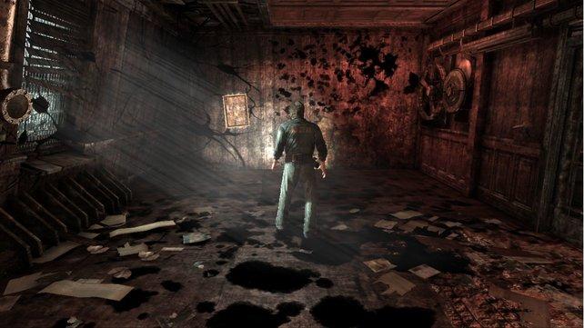Downpour setzt sich mit Licht und Schatten geschickt in Szene.