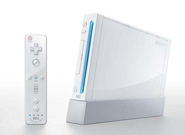 Grundlegend anders: die Nintendo Wii mit neuartiger Steuerung.