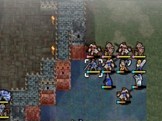Das Schlachtfeld ist in quadratische Felder eingeteilt auf denen ihr eure Einheiten bewegt.