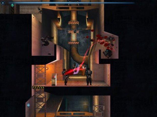 Nur optisch erinnert das Spiel an Shadow Complex von der Xbox 360.