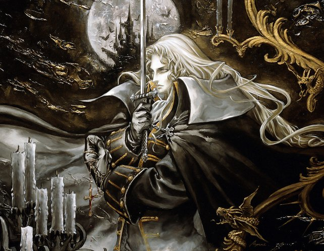Alucard, der Held von Symphony of the Night in voller Pracht.