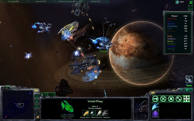 Star Battle: Spannende Weltraumschlachten im Stil der berühmten Modifikation DotA.