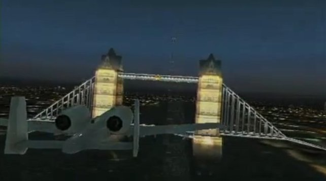 Mit von der Partie: Die Londoner Tower Bridge.