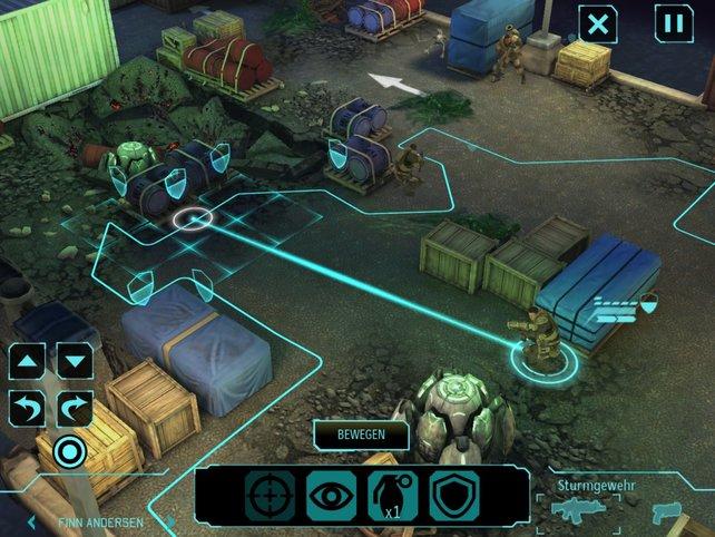 XCOM spielt sich auf dem Berührbildschirm ähnlich gut wie auf PC und Konsole.