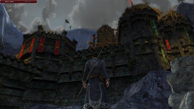 """Die """"Big Battles"""" finden in der Schlacht um Helms Klamm ihre erstmalige Anwendung."""