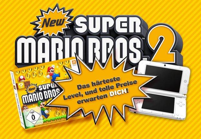 Die Gewinner erwartet ein dickes 3DS-Paket.