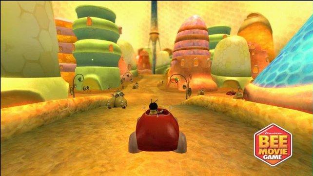 Neuwabenstadt ist richtig groß, mit einem Auto überwindet ihr die Strecken etwas schneller