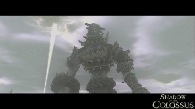 Die Kolosse in Shadow of the Colossus sind riesig und anmutig.