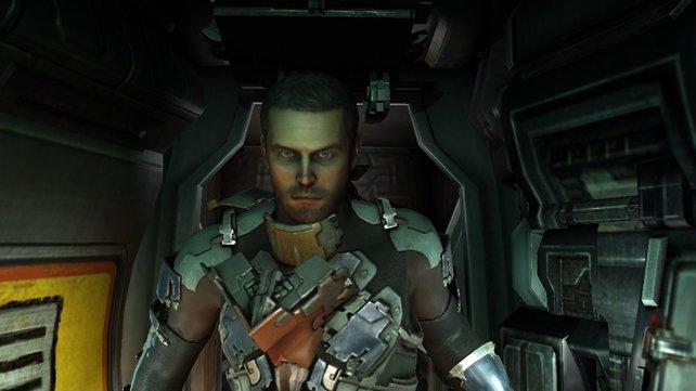 Isaac Clarke zeigt im zweiten Teil sein Gesicht.