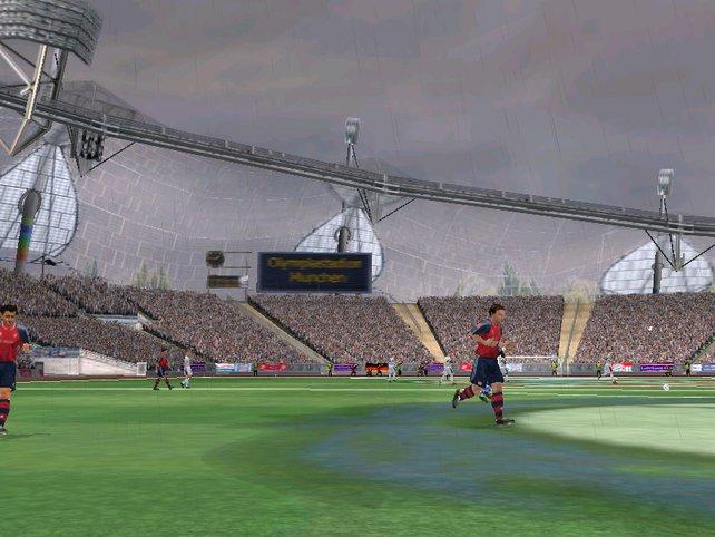 Das bekannteste Stadion in Deutschland.