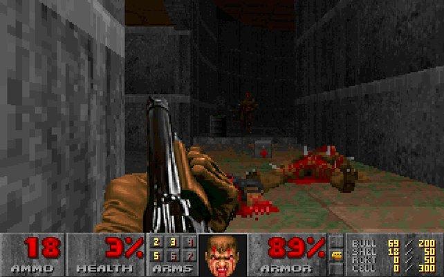 Wegen Gewaltdarstellungen landen Doom und Doom 2 auf dem Index.