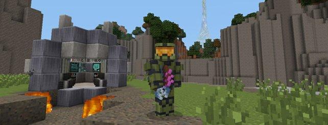 Minecraft HaloTexturenpaket Für Die Xbox Im Anmarsch - Minecraft spieletipps xbox 360