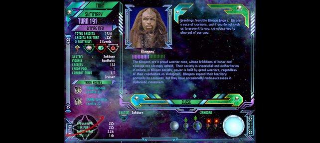 Kontaktaufnahme mit den Klingonen (Star Trek: Birth of the Federation)