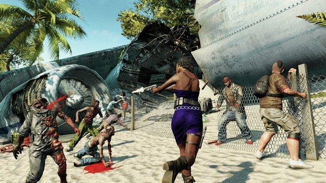 Sommer, Sonne, Strand und, nun ja, Zombies.