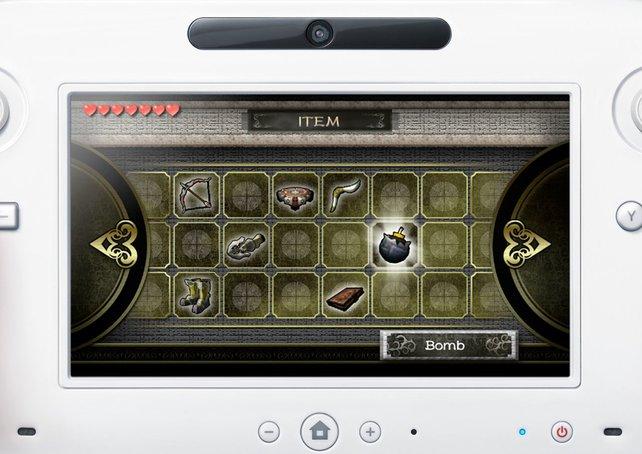 Wie beim DS und 3DS bedient ihr den Bildschirm mit Finger oder Stift.