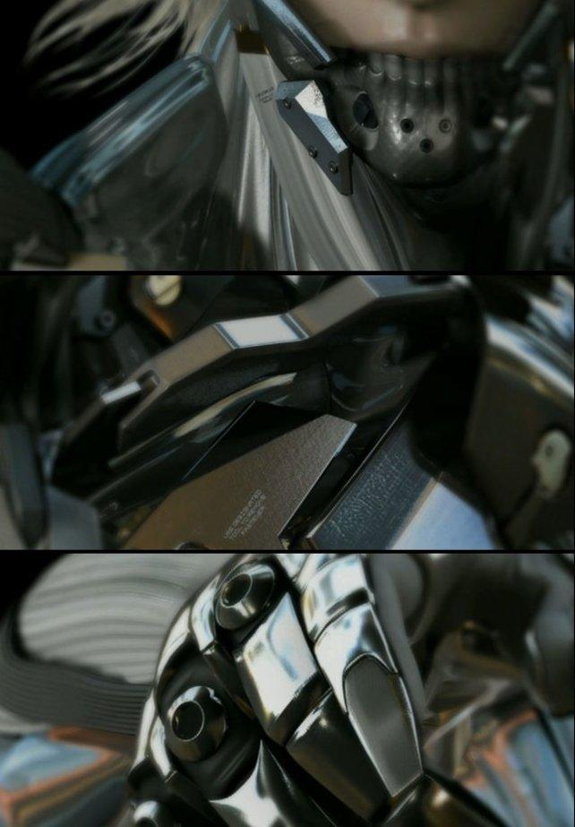 Mensch oder Maschine: Im ersten Trailer wird Raiden als stahlharter Kämpfer in Szene gesetzt.