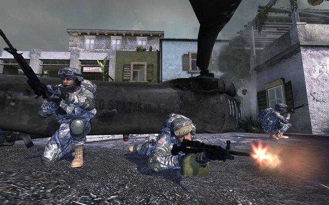 Die amerikanische Armee sucht Rekruten mit kostenlosen Spielen.