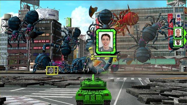 Grafisch reizt Tank! Tank! Tank! die Wii U nicht aus.