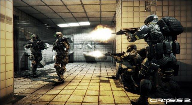 Crysis 2 tauscht die Tropeninsel als Schauplatz mit New York City - inklusive vielen Innenlevels.