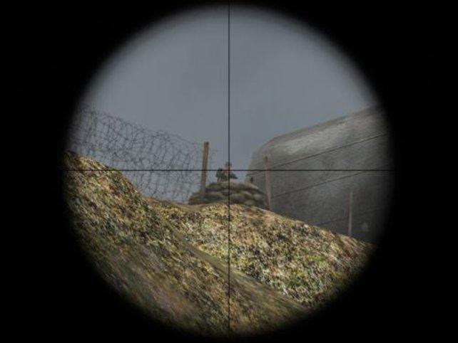 Ohne Scharfschützengewehr wäre man aufgeschmissen