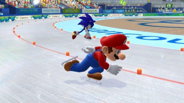 Ein hauchdünner Vorsprung für Mario.
