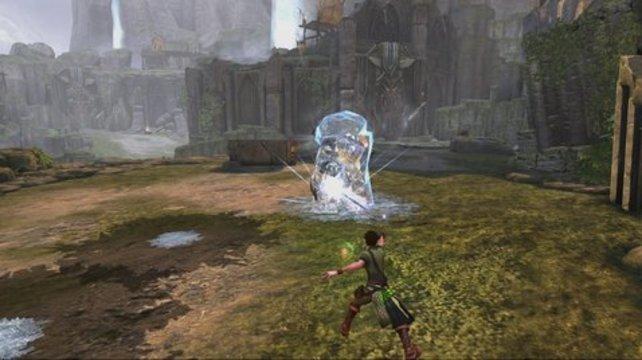 Friert eure Gegner komplett ein und setzt mit einem arkanen Zauberangriff nach!