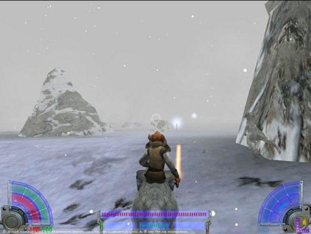 Auf dem Eisplaneten Hoth