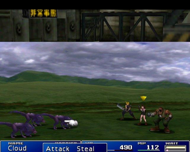 Final Fantasy ist ein klassisches, rundenbasiertes Rollenspiel.