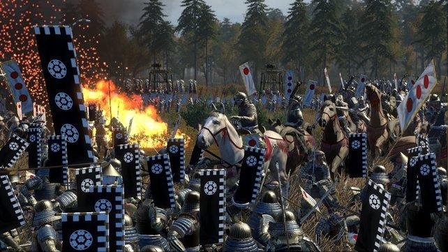 Die historischen Schlachten sind extrem knifflig, weil gerne mal eure Verbündeten die Seite wechseln.