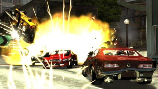 """Gigantische Explosionen - Ein wesentlicher Bestandteil von """"Full Auto"""""""