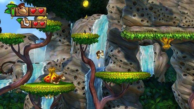 Tropical Freeze ähnelt dem Vorgänger Returns noch mehr als Donkey Kong Country 2 der allerersten Episode.