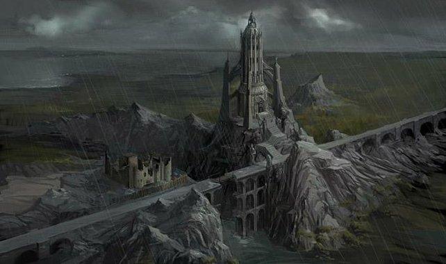 Hier würde sich auch Sauron wohl fühlen