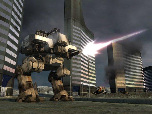 Der Walker, eine  der neuen Kriegsmaschinen.